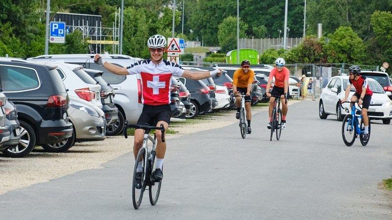 Raphaël Stotzer est allé au bout de son tour de Suisse
