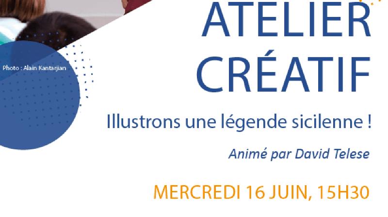 Atelier créatif: Illustrons une légende sicilienne