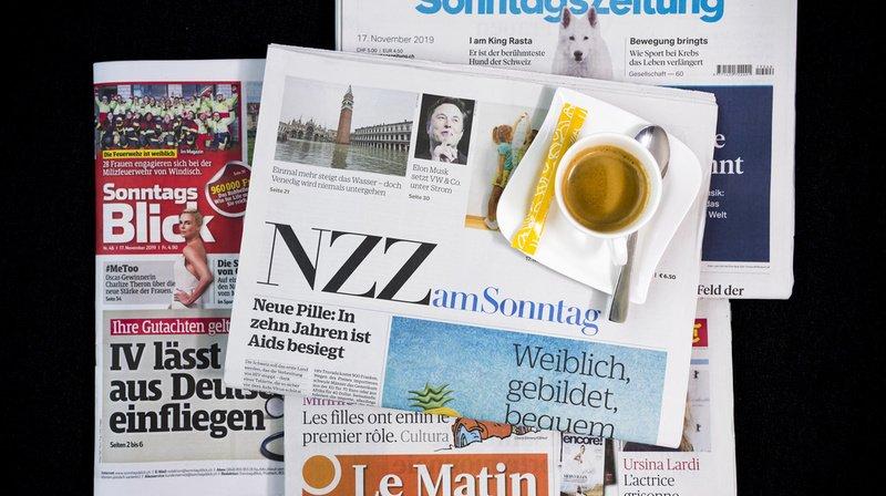 Revue de presse: adhésion à l'UE, vaccins anti-Covid, initiative UDC contre la SSR,… les titres de ce dimanche