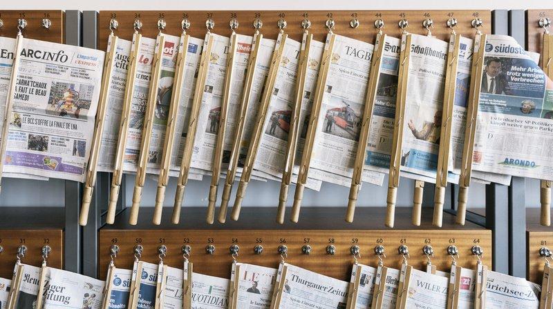 Lancement d'un référendum contre les mesures d'aide aux médias