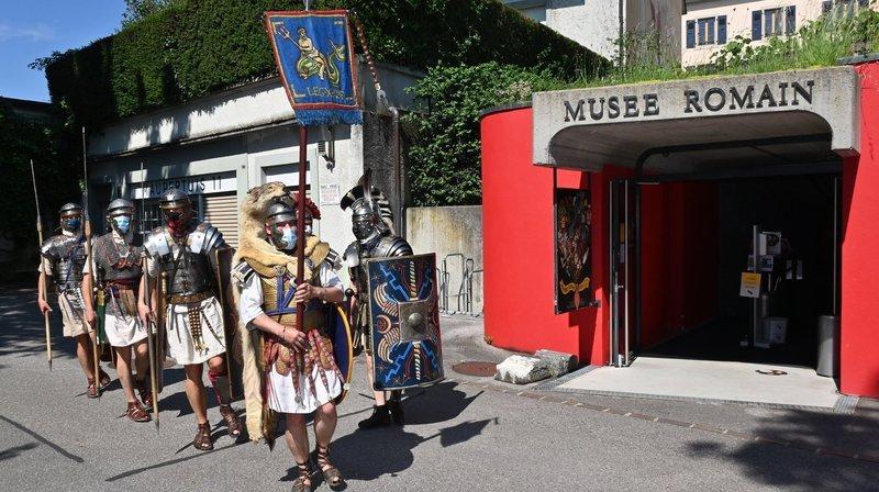 Ultime journée romaine avant la retraite pour la conservatrice du Musée romain