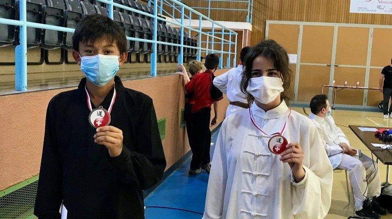 Deux Saint-Cerguois s'illustrent aux Championnats suisses de kung-fu