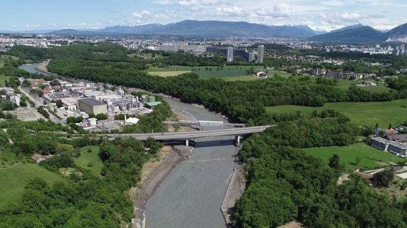 3,1 millions de tonnes de sédiments évacués du Rhône près de Genève