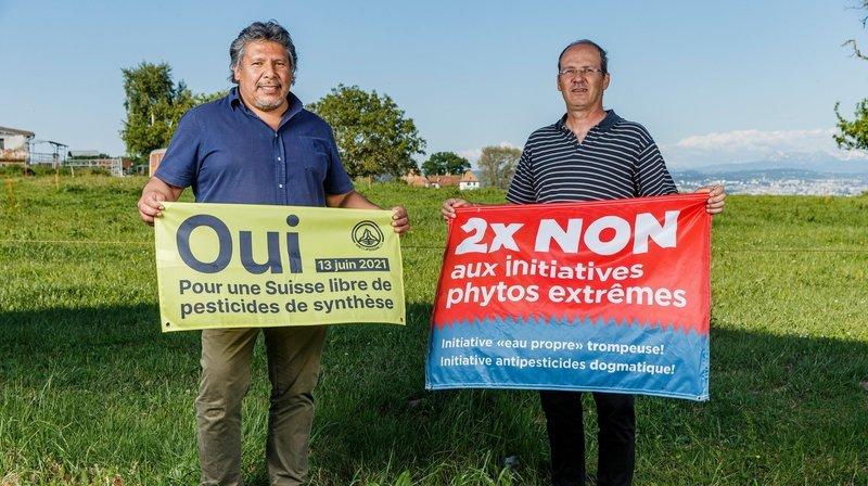 Pesticides de synthèse: deux producteurs de La Côte croisent le fer