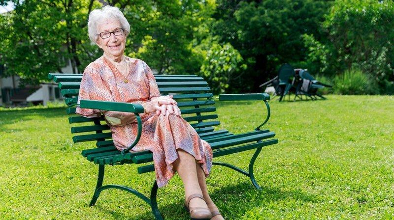 Morges: à 100 ans, elle coud et jardine toujours