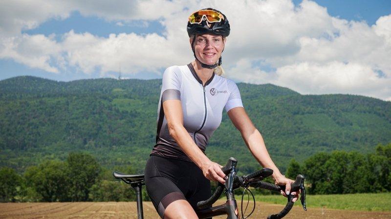 Une Eysinoise va grimper neuf fois la Barillette à vélo