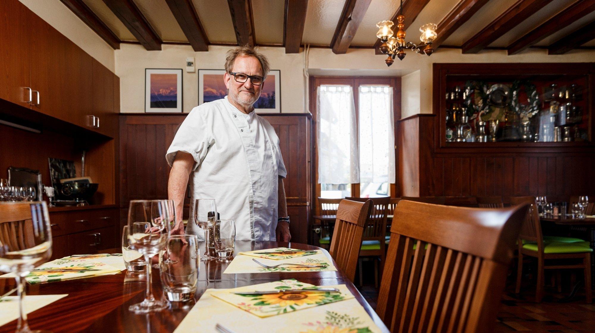 Burtigny: après 24 ans à l'auberge, Robert Bubloz quitte ses fourneaux