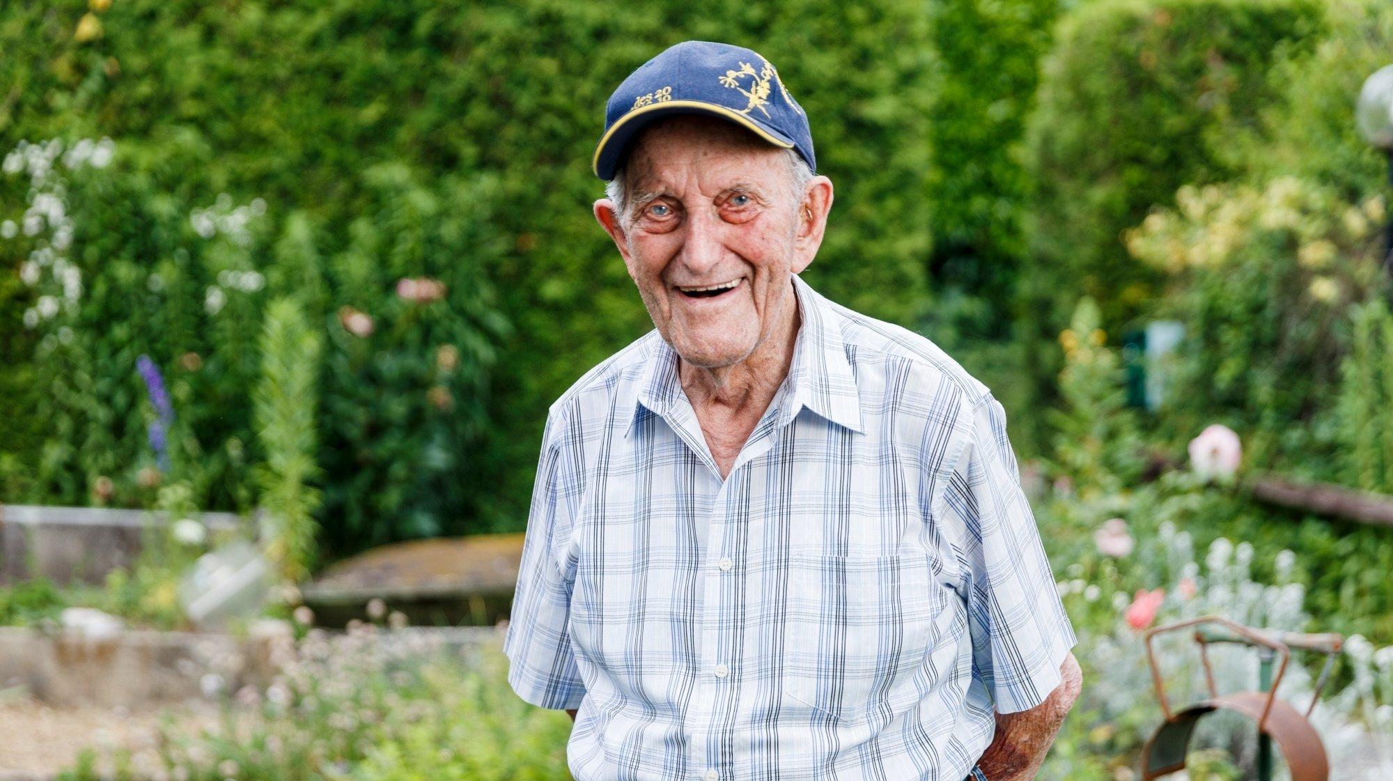 Lully: l'ancien boulanger de Denens est centenaire