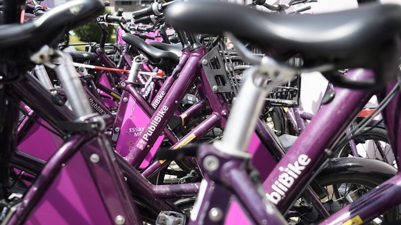 Région de Nyon étend son réseau de vélos en libre-service