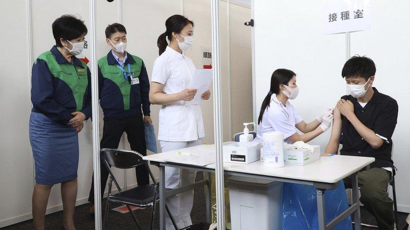 Coronavirus: début de la vaccination pour les membres de l'organisation des JO de Tokyo