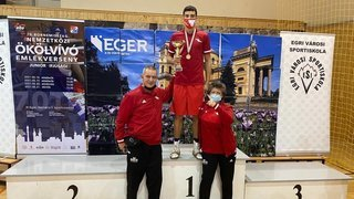 En Hongrie, le Morgien Adam Messibah remporte un prestigieux tournoi