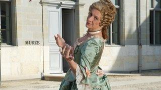 La baronne Matilda Guiguer reçoit