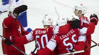 Hockey – Mondial 2021: la Suisse écrase la Slovaquie