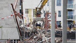 Belgique: trois morts et deux disparus sur le chantier d'une école à Anvers