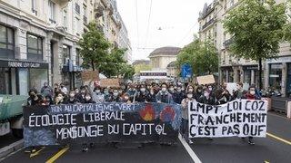 Loi sur le CO2: un «röstigraben» chez les grévistes du climat
