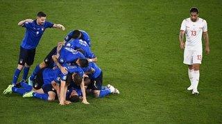 Euro 2021: l'Italie donne une leçon à une Suisse dépassée