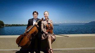 Duo A.ORLIK violon et C.MACHEREL violoncelle