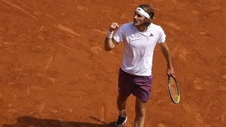 Tennis – Roland-Garros: une première finale majeure pour Tsitsipas