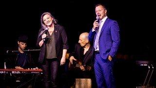 Morges: Nuria Gorrite fait le show avec Yann Lambiel à La Coquette
