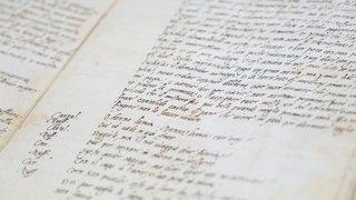 Montricher: le manuscrit, cette si précieuse relique