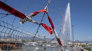 Difficile d'accéder à Genève, terre de sommets, toujours plus sécurisée