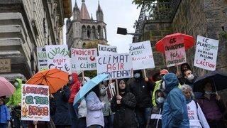 La Grève pour l'Avenir dans les rues de Suisse