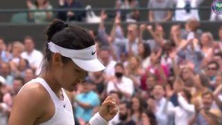 Tennis – Wimbledon: une Britannique de 18 ans en 8es de finale