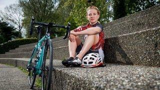 La triathlète Estelle Perriard veut revenir sur le devant de la scène