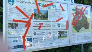 Prangins: on en sait plus sur les auteurs de vandalisme