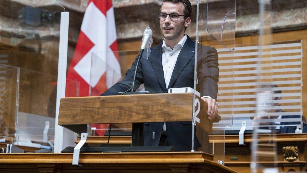 A 25 ans, Andri Silberschmidt est l'un des espoirs du parti libéral.
