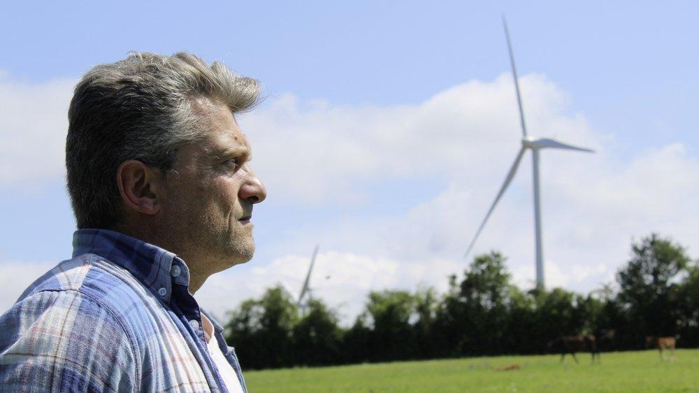 Fabien Ferrari estime que son pouvoir face aux éoliennes est de faire autant de bruit qu'elles en alertant les autorités concernées.