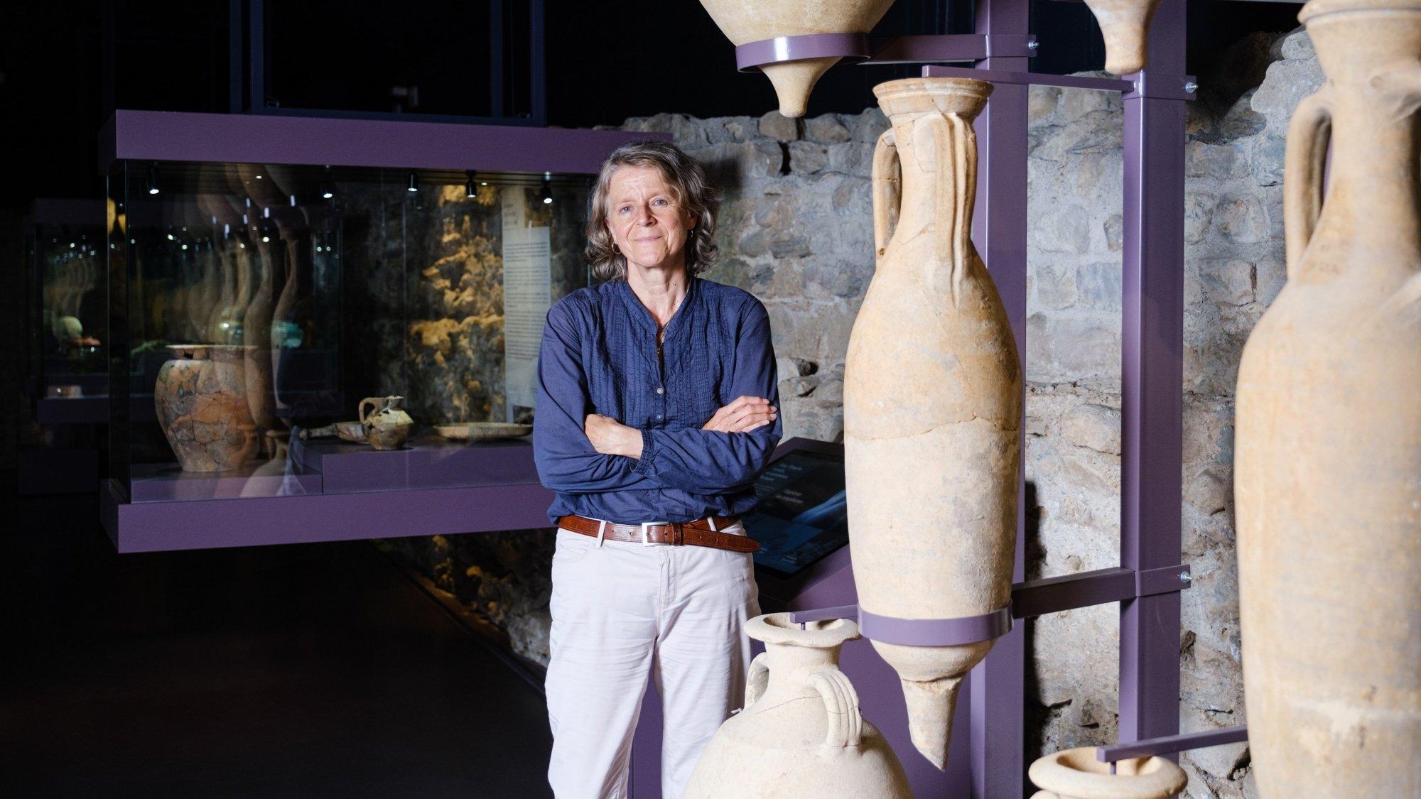 Véronique Rey-Vodoz aura précisément passé 29 ans et demi à la tête du Musée romain.