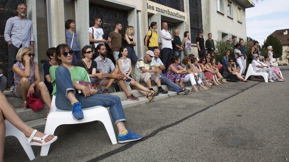 Le far° s'installe cette année dans la cour des Marchandises, qui devient le cœur de la fabrique des arts vivants.