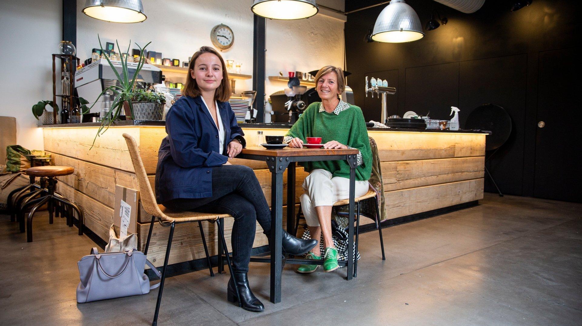 Clémence et Laure Oriol (de g. à dr.) sont les cofondatrices de Suspend'us.