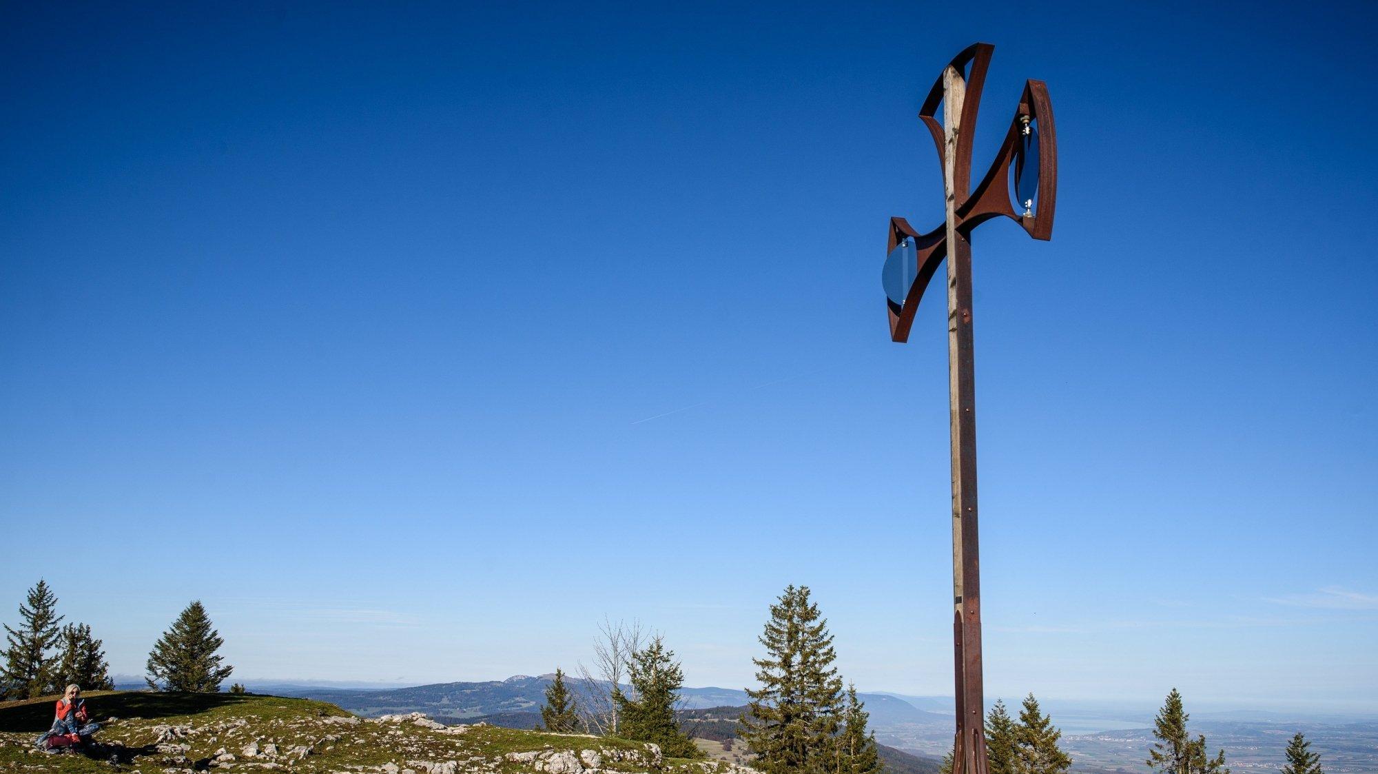 Le Parc Jura vaudois est l'un des parcs naturels régionaux suisses. Il est reconnu d'importance nationale depuis 2013. Ici, à Châtel, au-dessus de l'Isle.