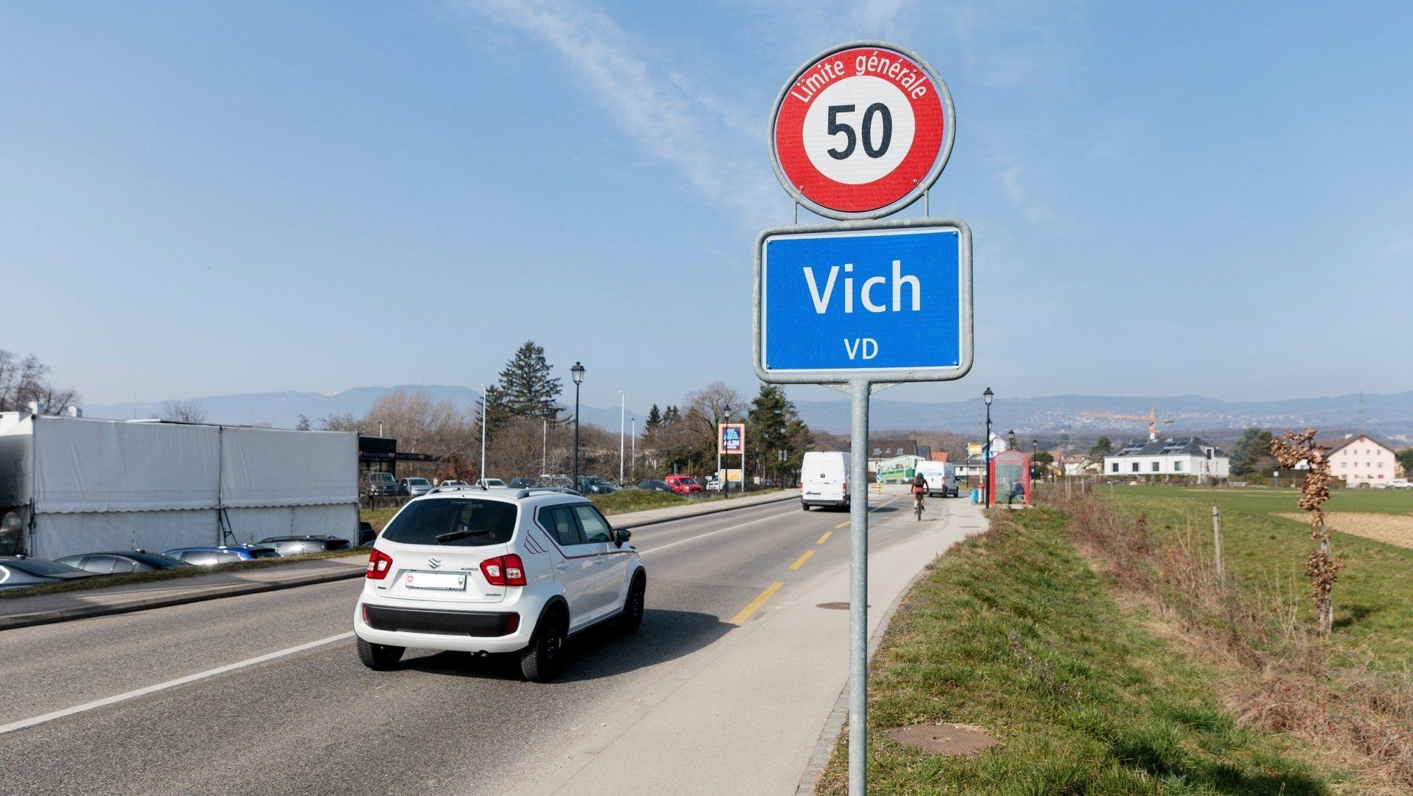 Si la traversée de Vich se fait à 50 km/h de jour, elle pourrait bientôt être limitée à 30 km/h la nuit.