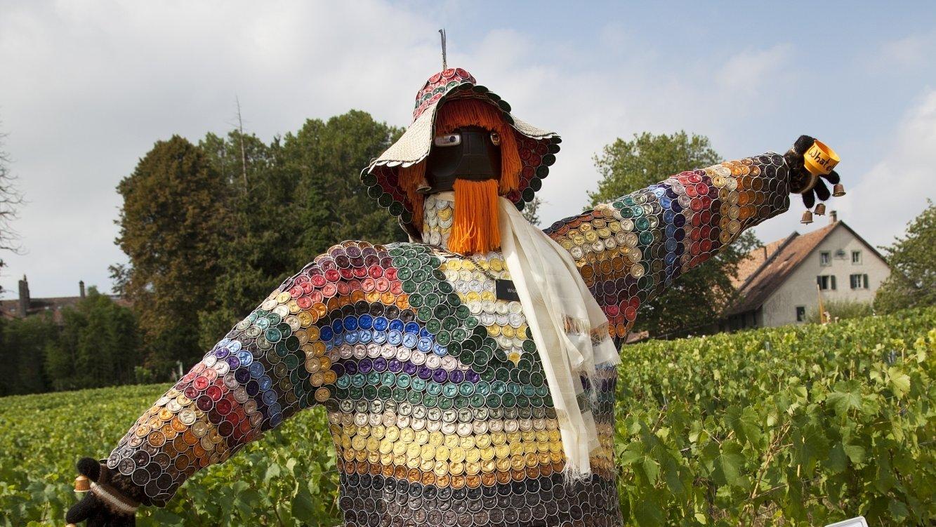 Le village de Denens organise son traditionnel concours d'épouvantails. En 2015, le public avait élu celui fait de capsules de café. A quoi ressemblera le vainqueur de cet été? A vous de jouer, dès samedi!