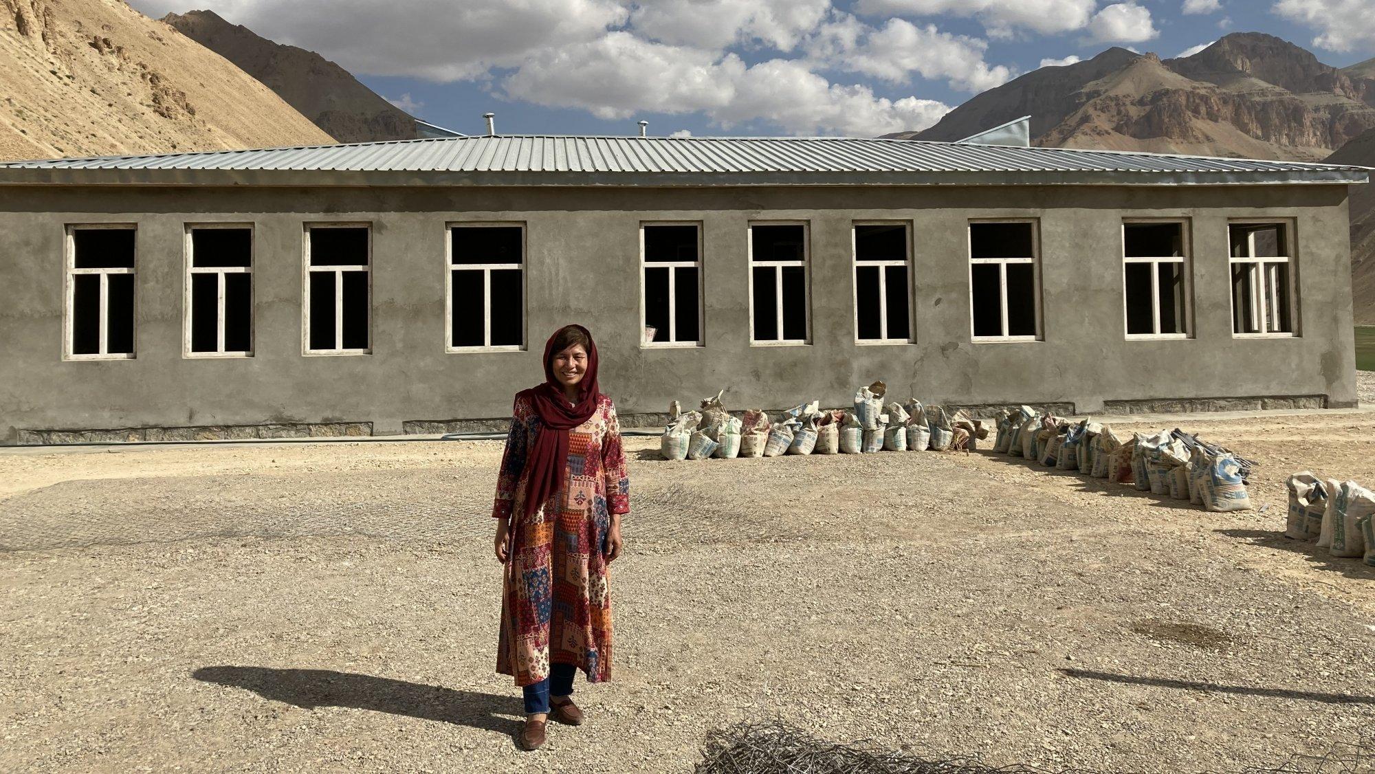 Taiba Rahim est une femme déterminée qui s'investit avec courage pour les enfants Afghans.