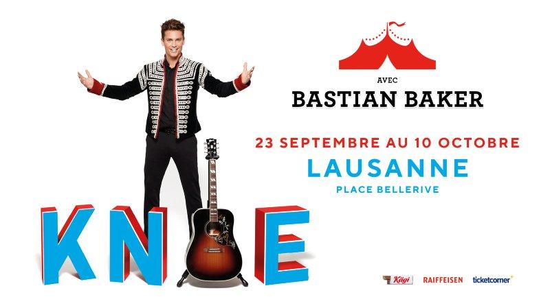 Cirque Knie à Lausanne