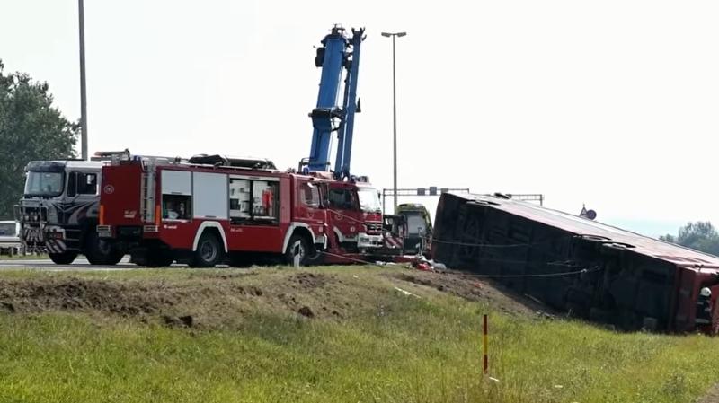 Dix morts dans un accident de car en Croatie