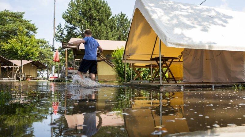 Vaud: près de 3400 sinistres annoncés à l'ECA en raison des intempéries