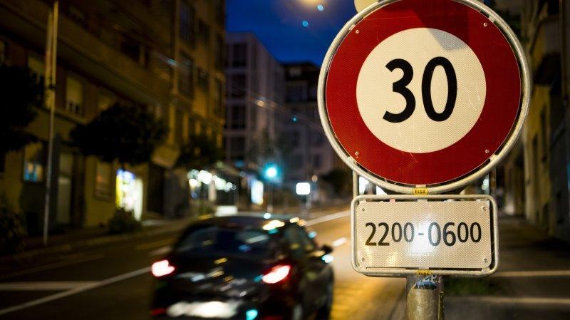 La limitation de vitesse de nuit avait été testée en 2017 sur les avenues de Beaulieu et Vinet à Lausanne.