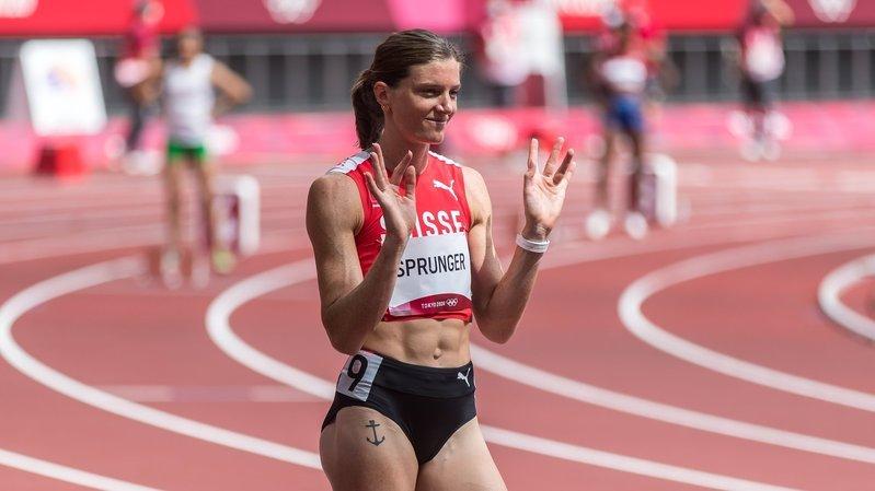 Lea Sprunger en demi-finale des JO: «Ma compétition est lancée»