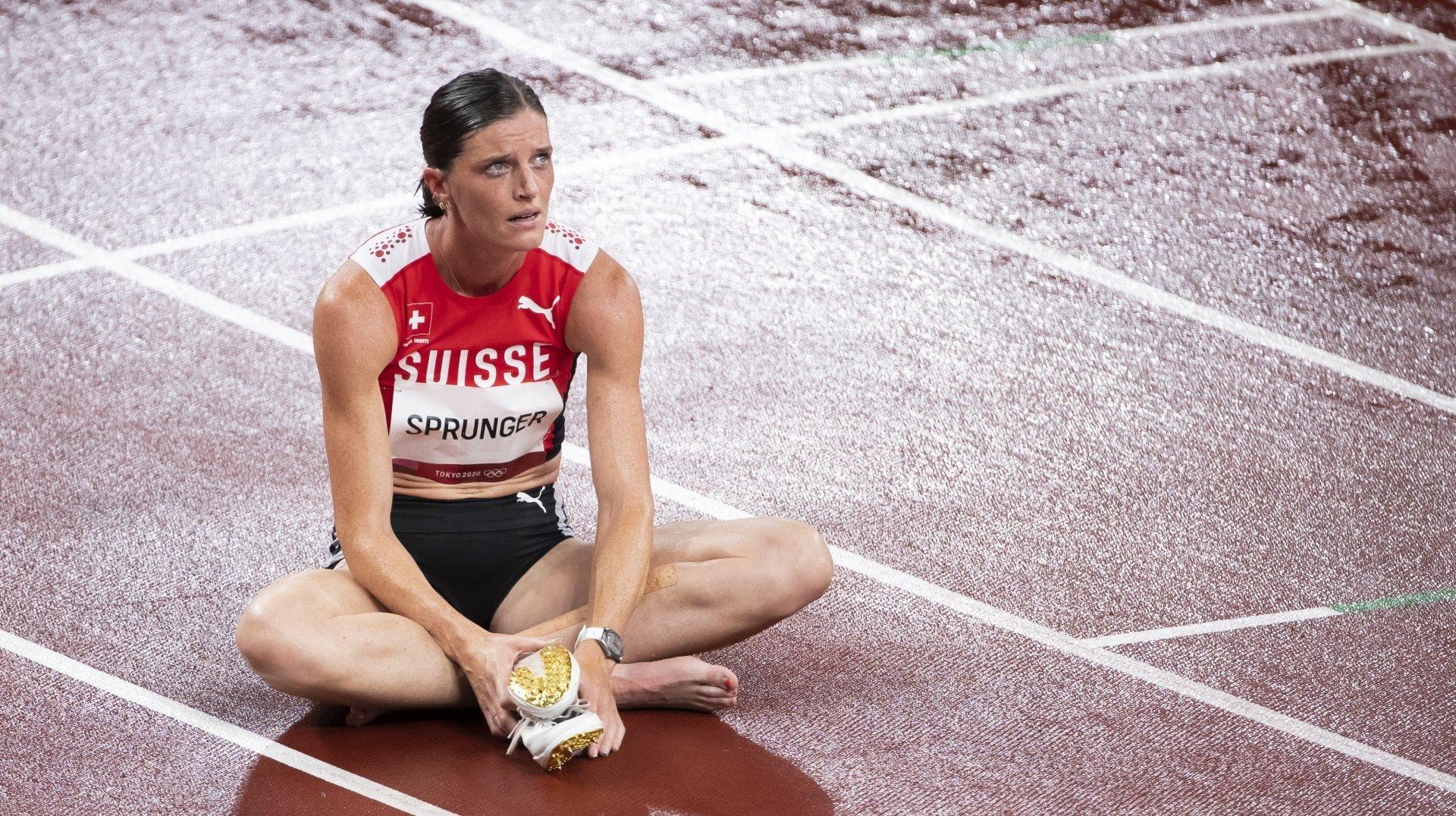 Pas de finale olympique pour Lea Sprunger