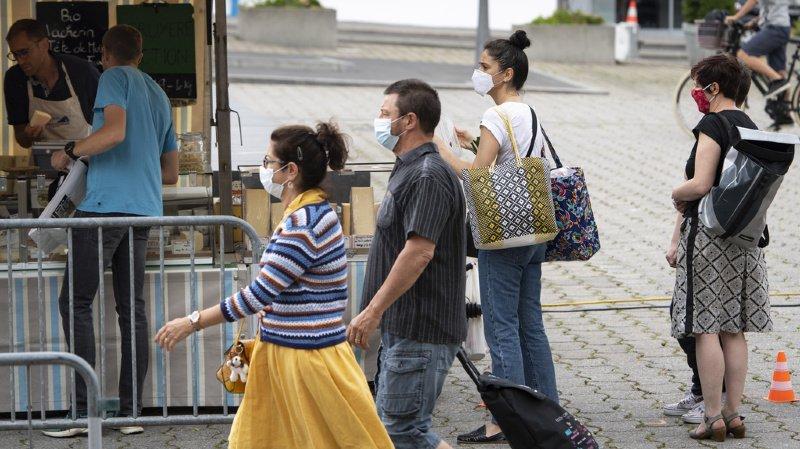Coronavirus: la Suisse compte 827 nouveaux cas en 24 heures, sur 18'590 tests