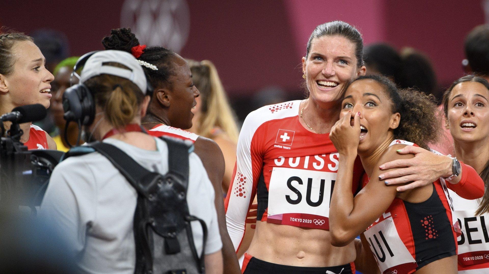 JO: Lea Sprunger termine sa dernière grande course par un record