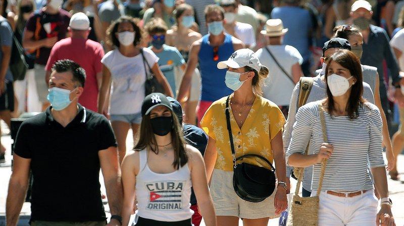 Les chiffres de contamination «très préoccupants» ont poussé le préfet de Haute-Savoie à rendre de nouveau obligatoire le port du masque.