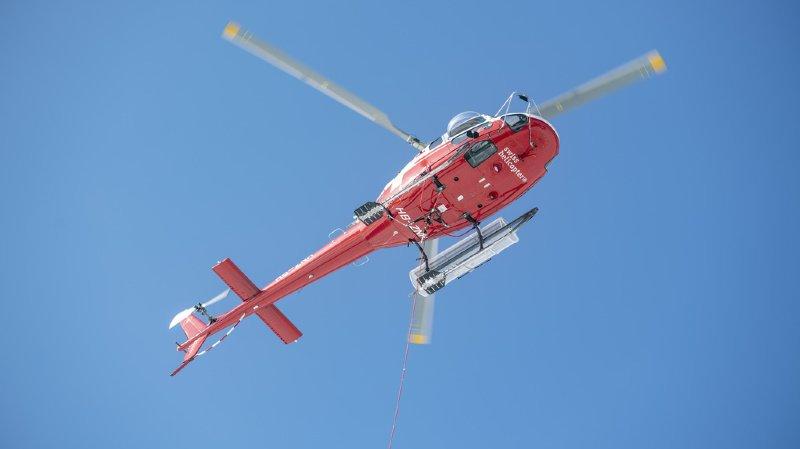 Trafic aérien: réseau de routes aériennes utilisé par les hélicoptères étendu