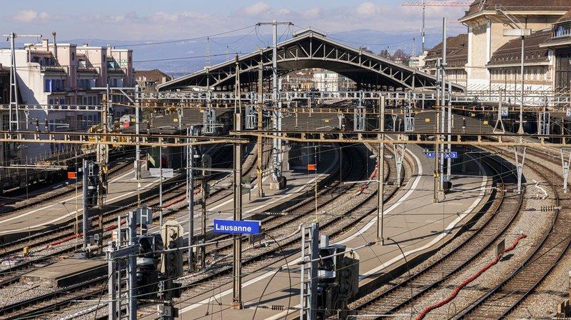 CFF: 2 valises oubliées ont bloqué la gare de Lausanne, les trains circulent à nouveau