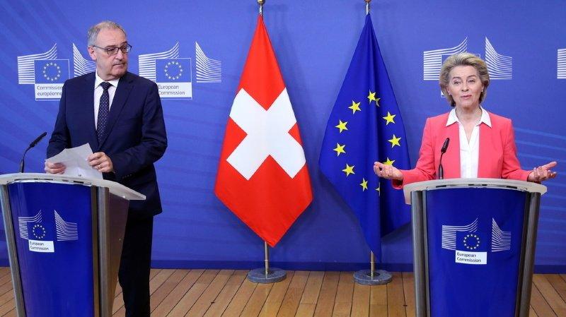 Suisse – UE: près de la moitié des Suisses voudraient voter sur un accord-cadre